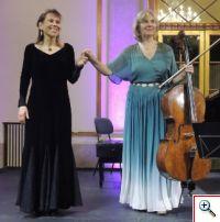 Anne Kaasa e Maria José Falcão