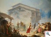 Prazeres galantes no sul de Itália de Jean Barbault (col. Príncipe Amyn Aga Khan)