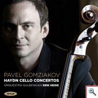 CD - Pavel Gomziakov no Violoncelo Stradivarius do Museu Nacional da Música