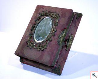 MM Album de fotografias com caixa de musica MM 0621
