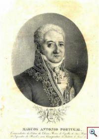 Litografia de Marcos Portugal da autoria de Jean-Baptiste Debret (n.º inv. MM 1006)