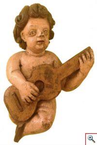 Querubim Tocador de Viola (Museu da Música, Inv. MM 1071)