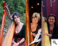 Trio de Harpas