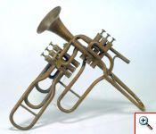 Trombeta de Pistoes Adolphe Sax MM 0186