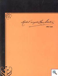 Catálogo da exposição «Michel'angelo Lambertini»